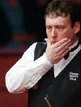 Jimmy White considers his next shot