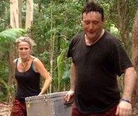 Lucy Benjamin & Jimmy White in Australia for Series 9 of 'I'm a Celebrity...Get Me Out of Here!'
