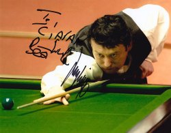 Jimmy White signed photograph
