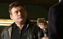 Jimmy White as Vic Lee, a snooker club owner, in the film 'Jack Said'