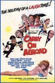 Film Poster for 'Carry On Abroad'