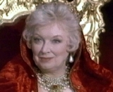 June Whitfield as the Queen of Spain in 'Carry On Columbus'