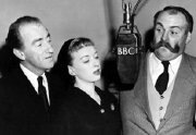 Dick Bentley, June Whitfield and Jimmy Edwards in 'Take It From Here'