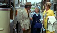 Sid James, June Whitfield & Joan Sims in 'Carry On Abroad'