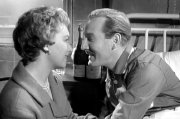 June Whitfield & Leslie Phillips in 'Carry On Nurse'