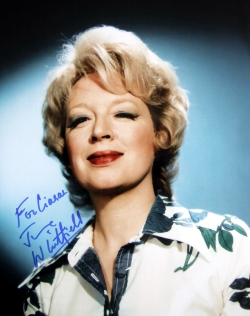 June Whitfield signed photograph