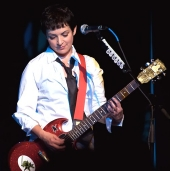 Jane Wiedlin on the Go-Go's tour in 2006