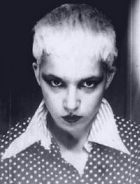 Jane Wiedlin in her punk days during the late 1970s