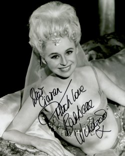 Barbara Windsor signed photograph