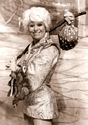 Barbara Windsor as Dick Whittington at the Ashcroft Theatre, Croyden (1978/9)