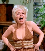 Barbara Windsor as Hope Springs in 'Carry On Girls' (1973)