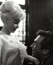 Barbara Windsor & James Booth in 'Sparrows Can't Sing' (1963)