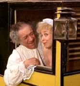 Barbara Windsor & Sid James in 'Carry On Dick' (1974)