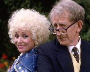Barbara Windsor & Lance Percival in 'Bluebirds' (1989)