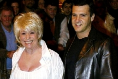 Barbara Windsor with her third husband Scott Mitchell