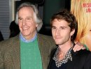 Henry Winkler with his son Max