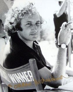 Signed photograph of Michael Winner