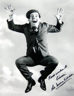 Sir Norman Wisdom has personalised this photograph to Ciaran