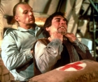 Andreas Wisniewski and Timothy Dalton in The Living Daylights