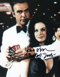 Lana Wood signed photograph
