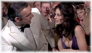 Lana Wood with Sean Connery in 'Diamonds Are Forever'