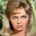 Susannah York as Candace Trumpey in 'The 7th Dawn'