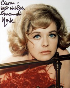 Susannah York signed photograph