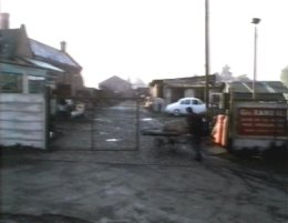 The Ragman's Daughter - Pownell's scrapyard on Meadow Lane, was used as Randall's yard