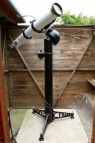 Sir Patrick Moore's 5 inch Cooke refractor telescope